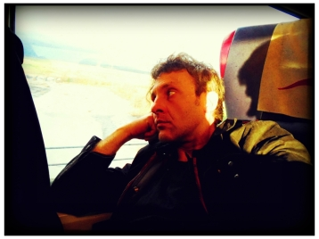 On the train: Marcello Serafino