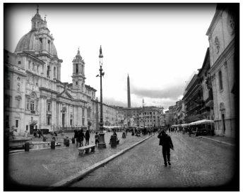 Walking in Rome: Piazza Navona