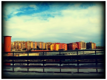 Landscape: view from Tiburtina Station